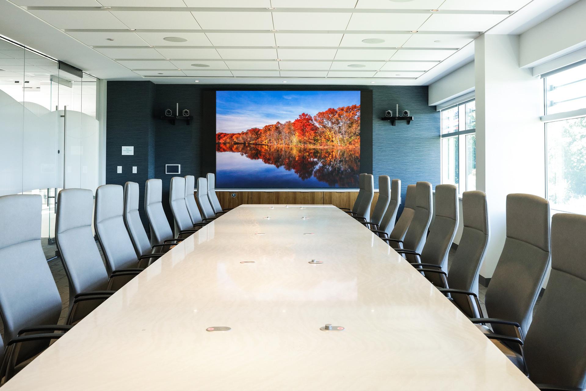 Cambridge Savings Bank Executive Boardroom Image