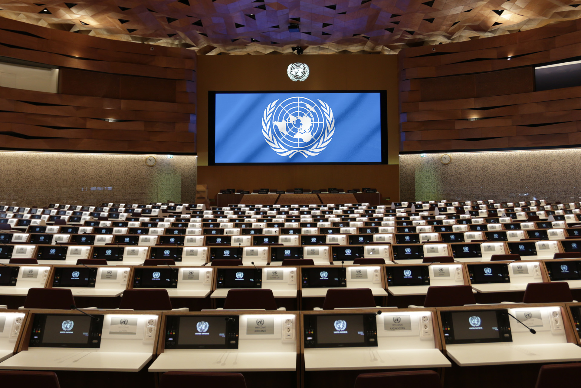 United Nations  Office at Geneva, Room XIX Image