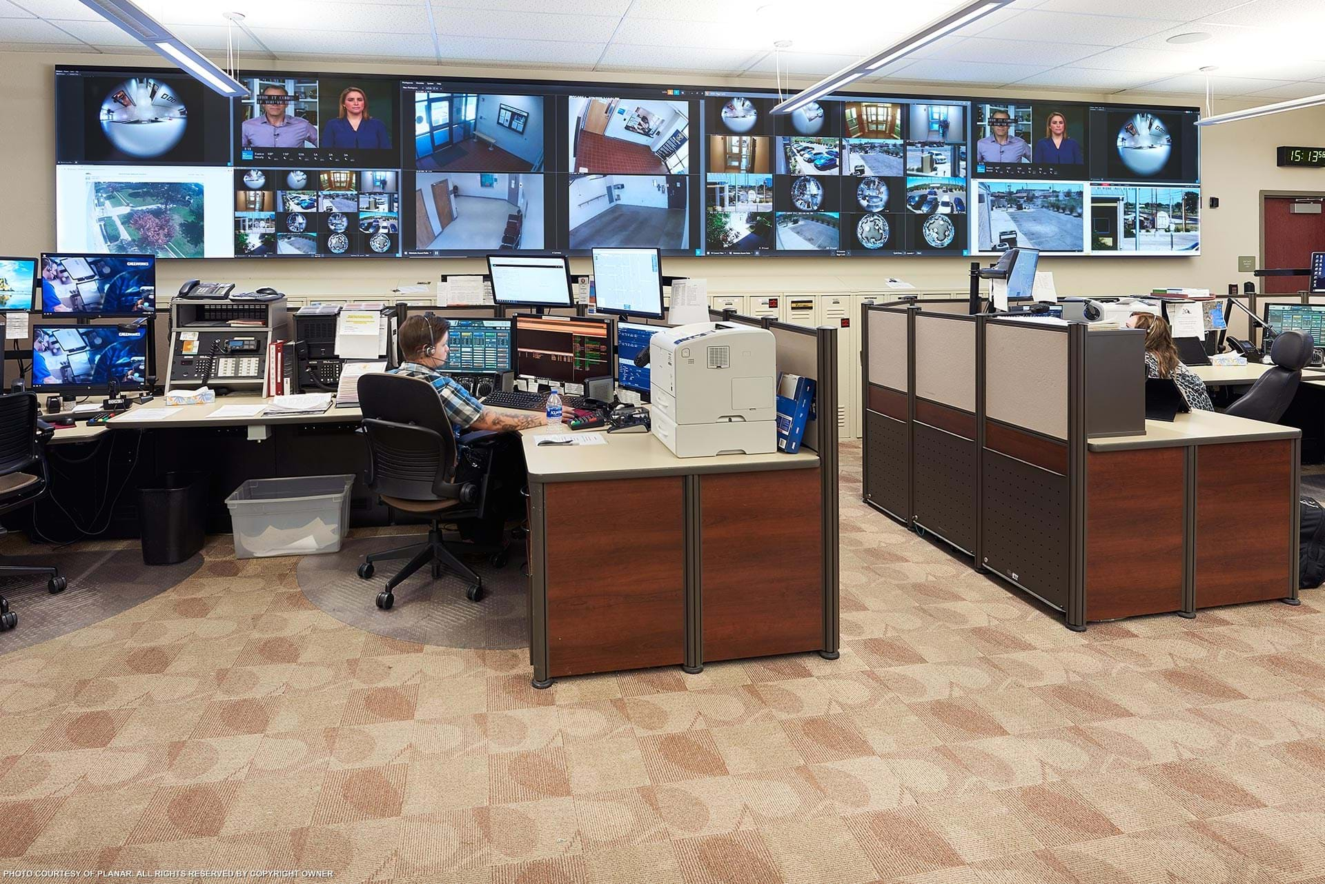 Lea County Communication Authority 911 Call Center Image